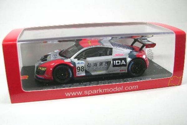 100% a estrenar con calidad original. Audi r8 LMS No. 98 zhuhai ilmc 2010 2010 2010  cómodamente