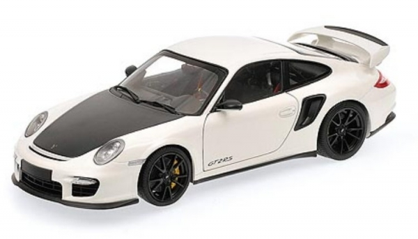 porsche 911 997 ii gt2 rs white with black wheels 2011 ebay. Black Bedroom Furniture Sets. Home Design Ideas