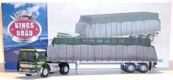 AEC Ergo sheeted Platform trailer willmotts trasporto Limited-King of the Road