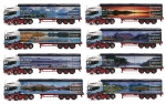 The Colin Prior Collection (8 Models) - Scania R Highline MALCOLM Logistics - Walking Floor Trailer
