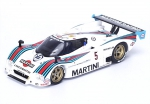 Lancia LC2 Martini No.5 7th LeMans 1985 (H. Pescarolo - M. Baldi - L. Cesario)
