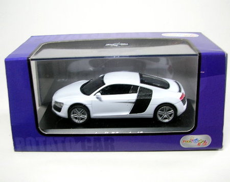 sattler collecting audi r8 weiss. Black Bedroom Furniture Sets. Home Design Ideas