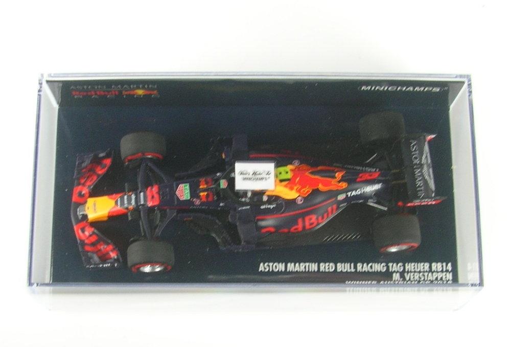 dbec8f51262a6 Model   Model  Aston Martin Red Bull Racing RB14 No.33 Winner Austrain GP Formula  1 2018 (Max Verstappen)