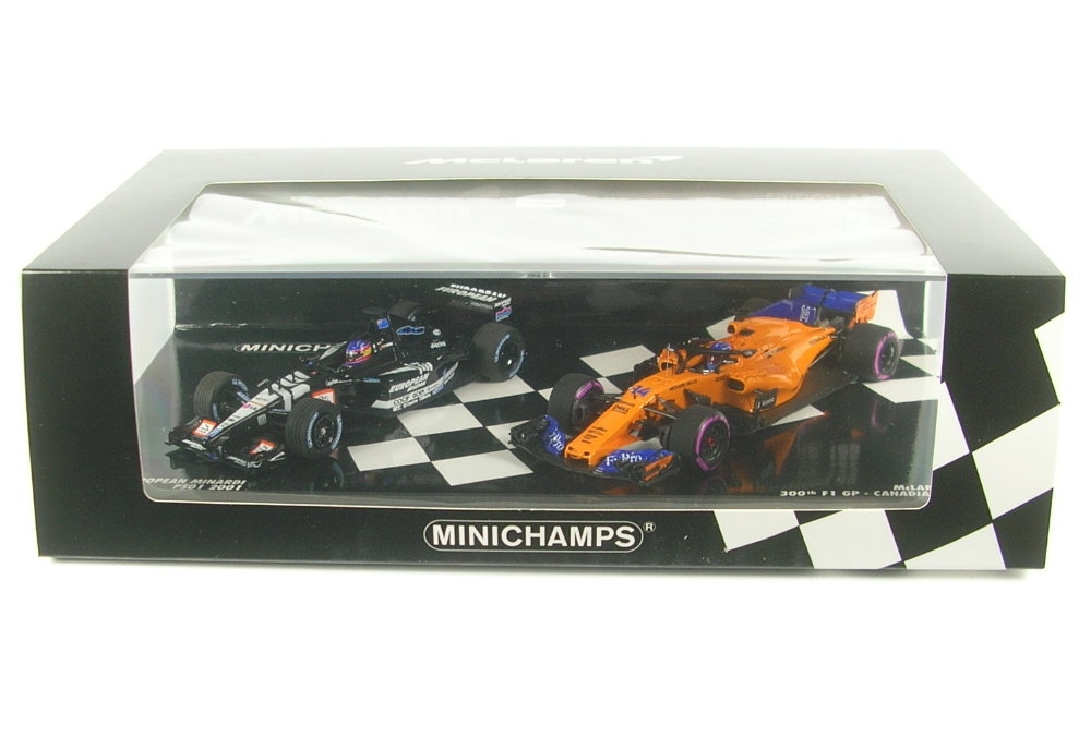 Fernando alonso minardi ps01 #21 f1 debut australia gp 2001 1:43 Minichamps
