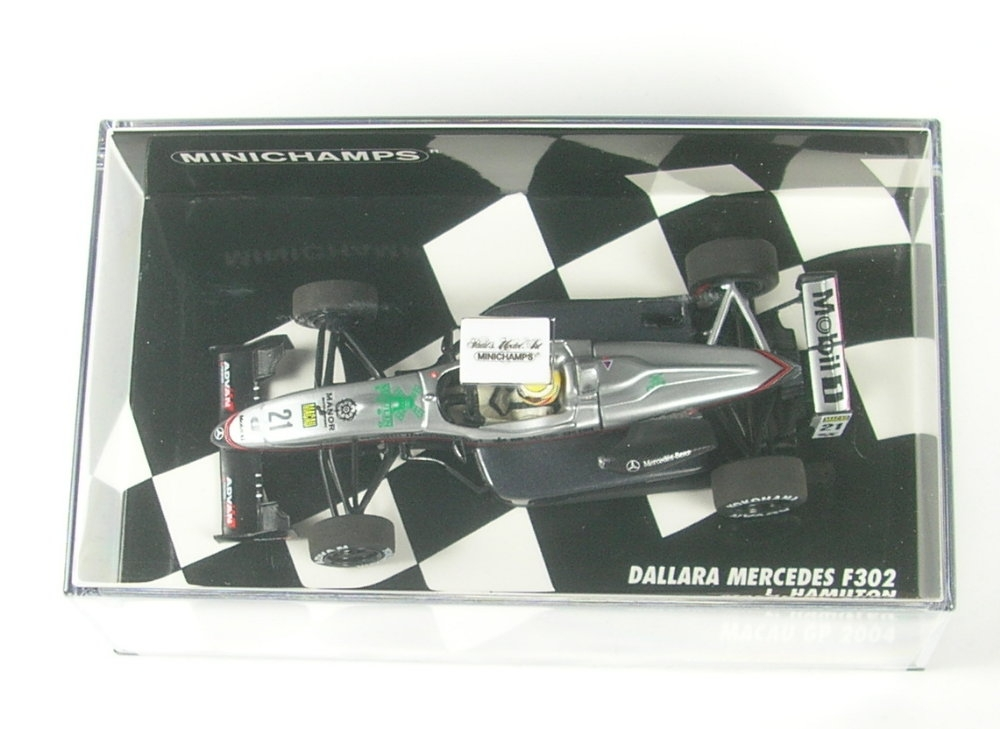 Dallara Mercedes F302 No.21 Macau GP 2004 1:43 Lewis Hamilton