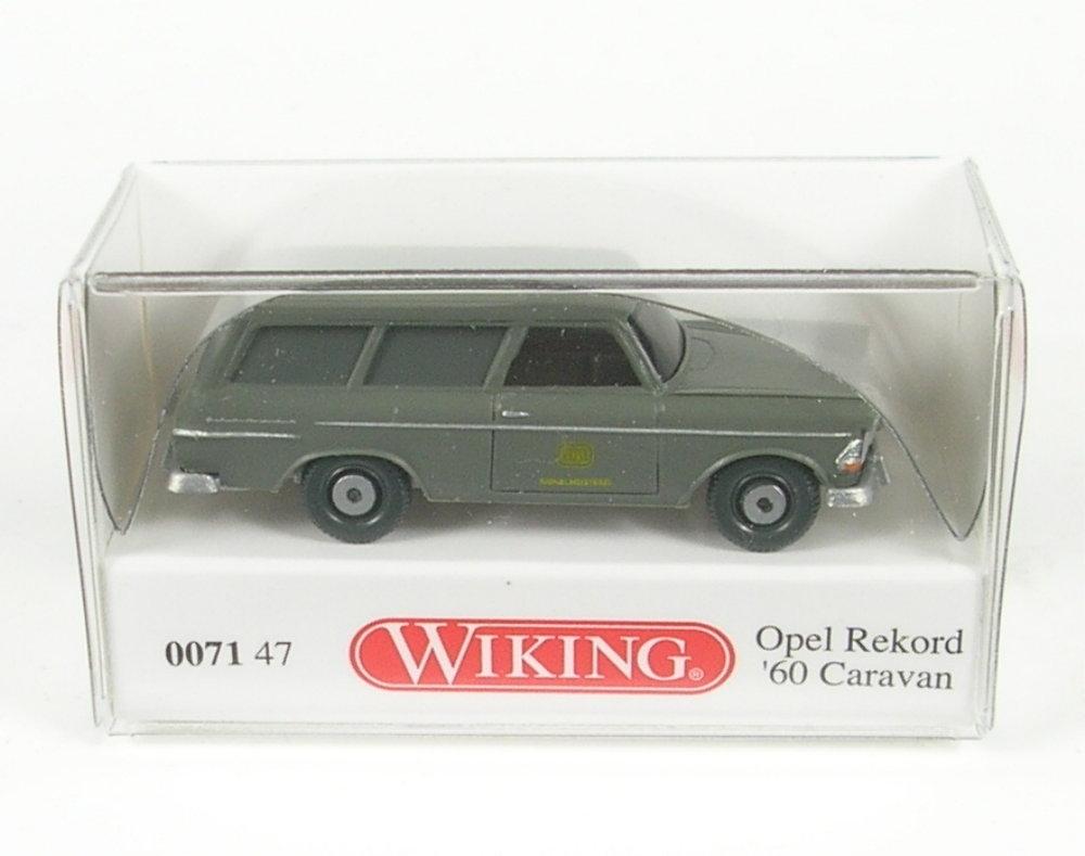 "WIKING 007147//0071 47 H0 1:87 Opel Rekord ´60 Caravan /""DB/"" Signalmeisterei NEU!"