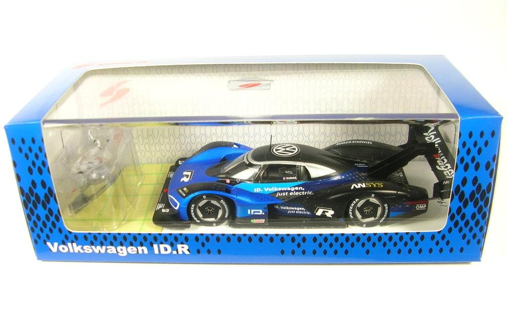 Volkswagen Id R Goodwood Record 2019 Romain Dumain Blue Black SPARK 1:43 S7831 M