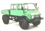 Mercedes-Benz Unimog 416 DoKa (green/black)