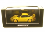 Porsche 911 GT3 (997 II) yellow with yellow rims - 2009