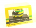 Ayrton Senna Helmet World Champion Japan GP Formula 1 1988