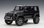 Mercedes-Benz G500 4x4² (gloss black) 2016
