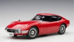 Toyota 2000 GT Coupe (red) 1965