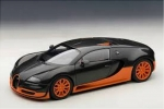 Bugatti Veyron Super Sport World Record Edition (black/orange skirts)