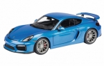 Porsche Cayman GT4 (blue metallic)