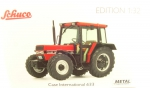 Case International 633 Traktor (rot)